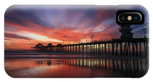 Pier Sunset IPhone Case