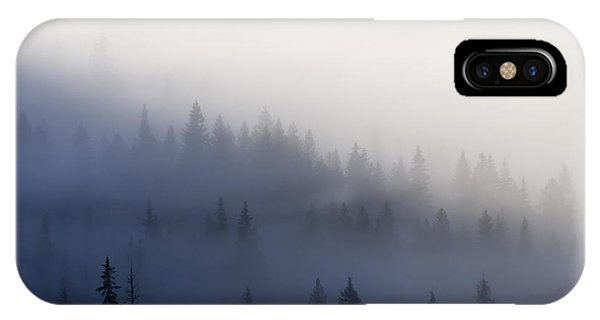 Forest iPhone Case - Piercing The Veil by Mike  Dawson
