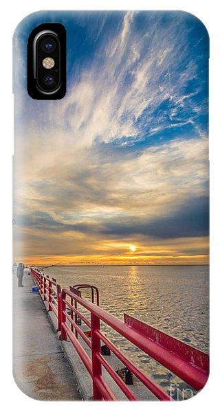 Pierhead October Sky IPhone Case