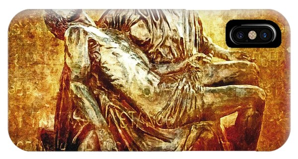 Pieta Via Dolorosa 13 IPhone Case