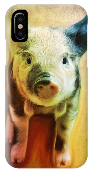 Pig Is Beautiful IPhone Case