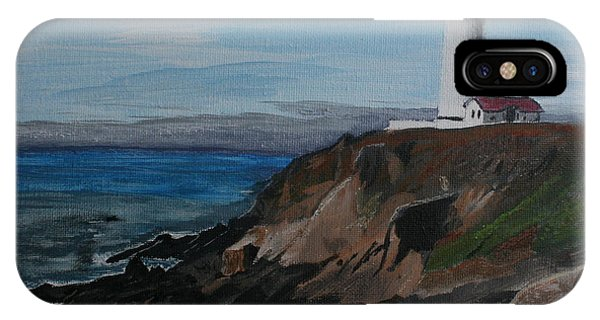 Pigeon Lighthouse Daytime Titrad IPhone Case