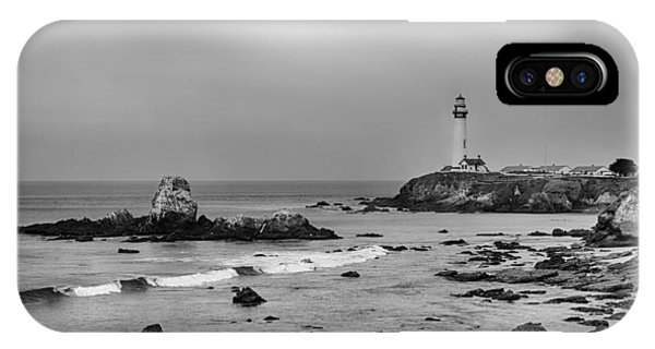 Pigeon Point - Black And White IPhone Case