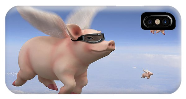 Pigs Fly IPhone Case