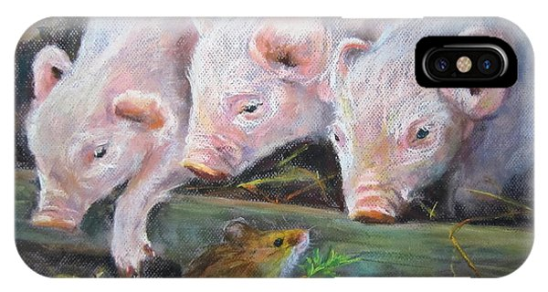 Pigs Vs Mouse IPhone Case