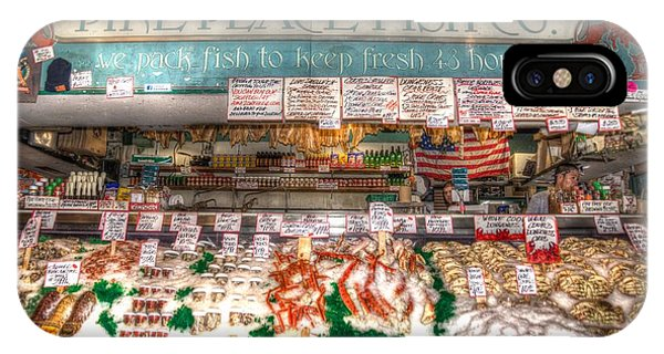 Pike Place Fish Company II IPhone Case