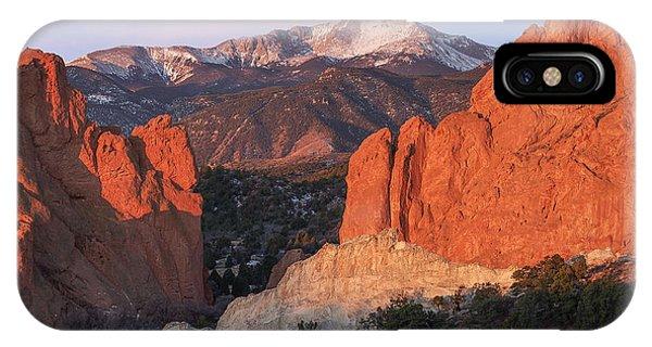 Pikes Peak Sunrise IPhone Case