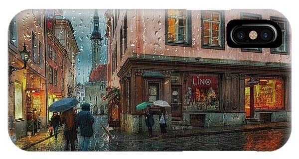 Alley iPhone Case - Pikk by Eduard Gorobets