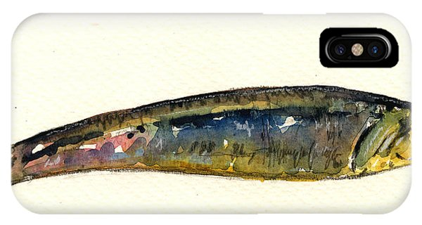 Lure iPhone Case - Pilchard by Juan  Bosco