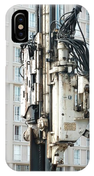 Technological iPhone Case - Pile Driver by Alex Bartel/science Photo Library