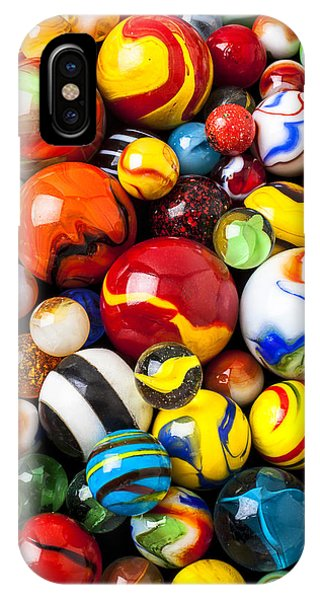 Novelty iPhone Case - Pile Of Marbles by Garry Gay