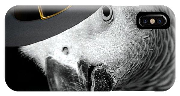 Pilgrim Parrot IPhone Case