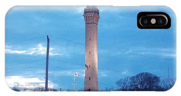 Pilgrim Tower IPhone Case