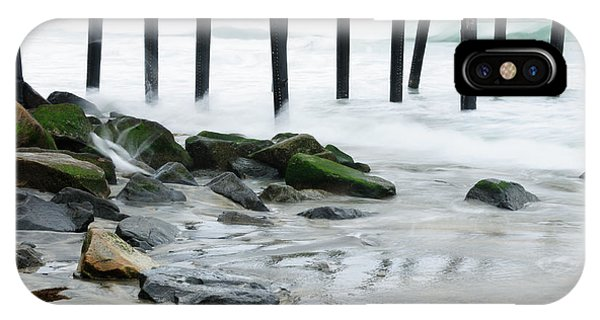 Pilings At Oceanside IPhone Case