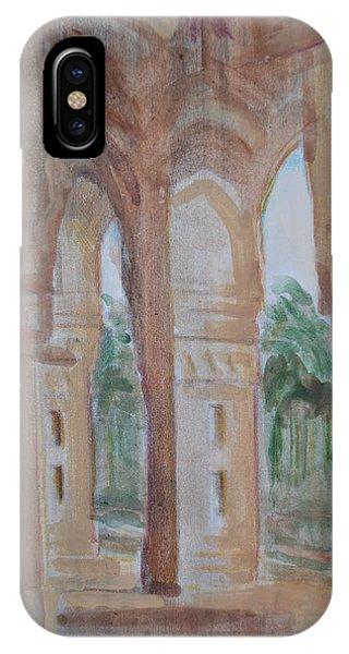 Pillar Of Faith IPhone Case