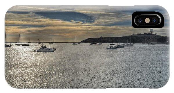 Pillar Point Sunset IPhone Case