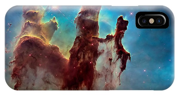 Pillars Of Creation In High Definition Cropped IPhone Case
