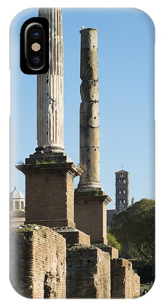 Pillars Of Rome IPhone Case