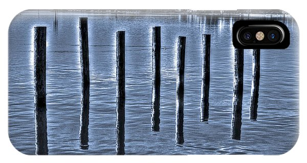 pillars on the Bay IPhone Case