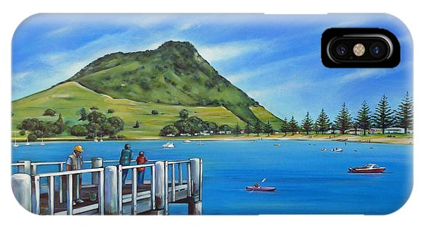 Pilot Bay Mt Maunganui 201214 IPhone Case