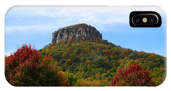 Pilot Mountain From 52 IPhone Case