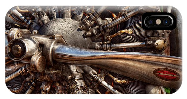 Pilot - Plane - Engines At The Ready  IPhone Case