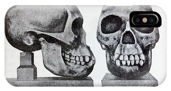 Piltdown Man Skull Reconstruction IPhone Case