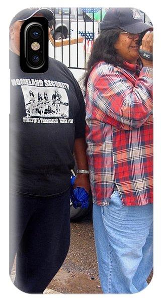 Pima Indians Watching Parade Sacaton Arizona 2005 IPhone Case