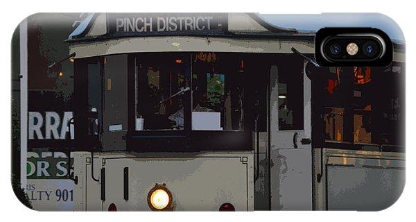 Pinch District Trolley Phone Case by Joe Bledsoe