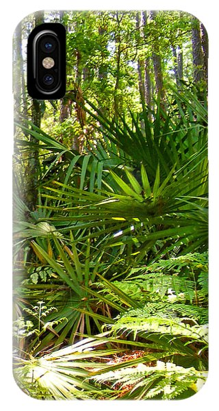 Pine And Palmetto Woods Filtered IPhone Case
