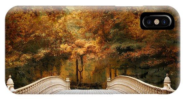 Pine Bank Autumn IPhone Case