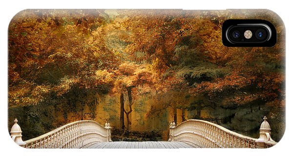 Pine Bank Autumn IPhone Case