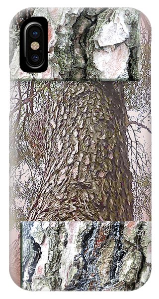 Pine Bark Study 1 - Photograph By Giada Rossi IPhone Case