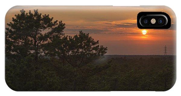 Pine Barrens Sunset Nj IPhone Case