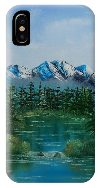 Pine Lake IPhone Case