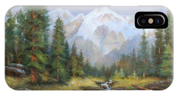 Pine Valley IPhone Case