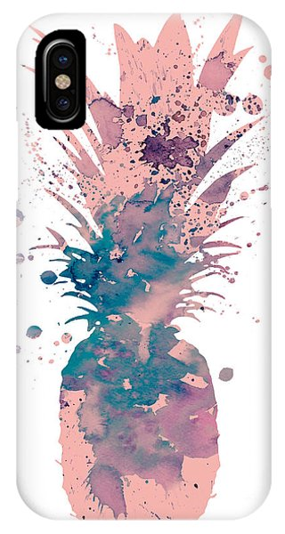 Cute iPhone Case - Pineapple 3 by Watercolor Girl