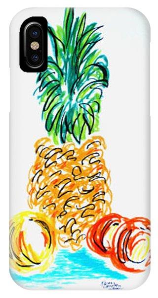 Pineapple Study No. 1 IPhone Case