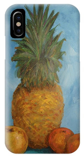Pineapple Study No 2 IPhone Case