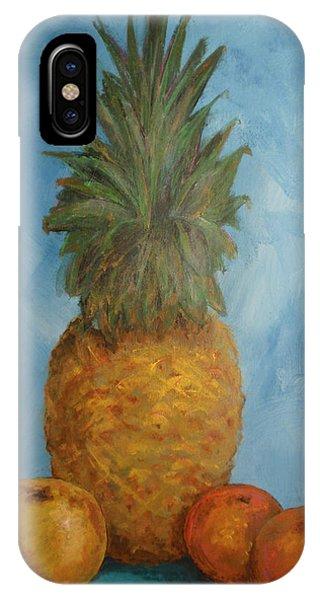 Pineapple Study No 2 IPhone Case