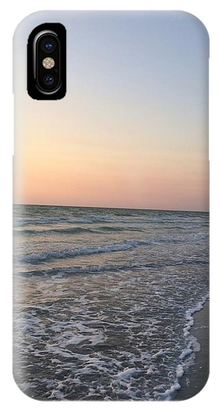 Pink And Blue Shore IPhone Case