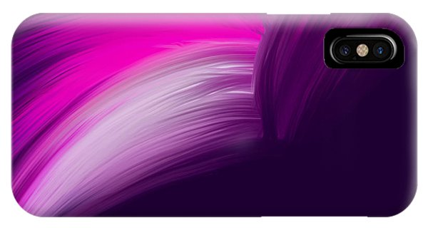 Pink And Purple Curves IPhone Case