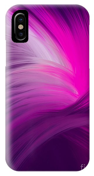 Pink And Purple Swirls IPhone Case