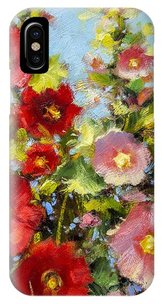 Pink And Red In The Flower Bed Phone Case by Bill Inman