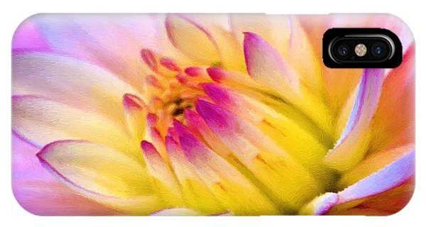 Pink And White Water Lily IPhone Case