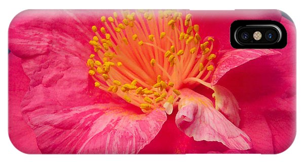 Pink And Yellow Flower IPhone Case