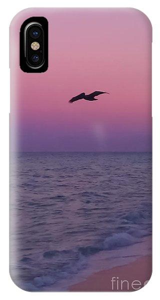 Pink Beach Sunset IPhone Case