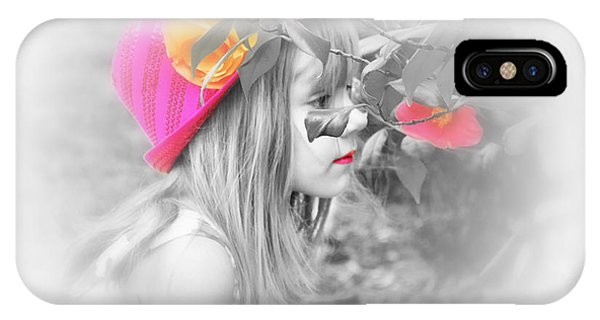 IPhone Case featuring the photograph Pink Beauty by Kelly Reber