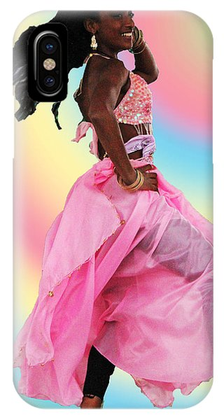 Pink Belly Dancer IPhone Case