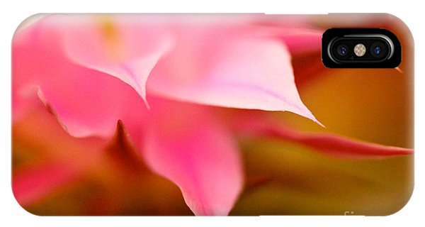 Pink Cactus Flower Abstract IPhone Case